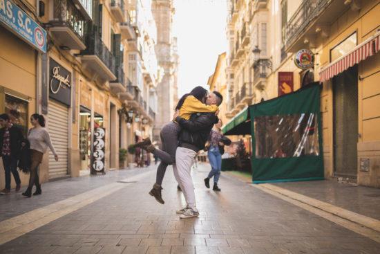 Sesión de pareja en Málaga, Samuel & Rosabel